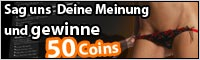 Nimm Dir nur 1 Minute Zeit und Du hast die Chance 50 Coins zu gewinnen !